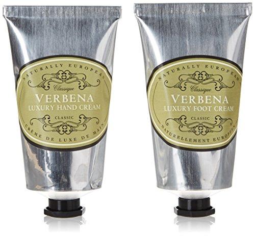 Set Naturally European von Somerset 2 x 75 ml aus Handcreme und Fußcreme Verbena