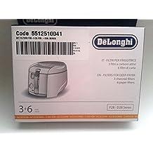 F28 Kit de filtros substituibles para freidoras DeLonghi, carbón