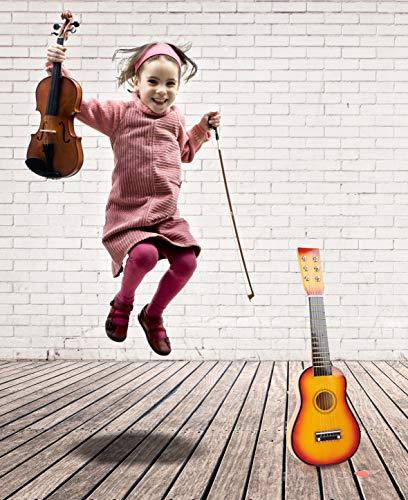 Gitarre / Musikinstrument für Kinder, mit Metallsaiten und Plektrum, geeignet für Kinder ab 3 Jahre - 3