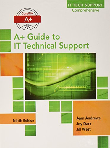CompTIA A+ Guide to IT Technical Support + PAC LMS Integrated MTAP Computing A+ Guide to IT Technical Support