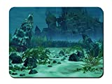 Atlantis,The Lost Underwater City - 9x7 MOUSE PAD
