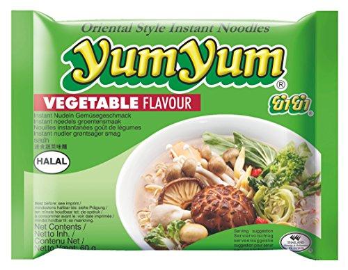 Gemüse / Vegetarisch, Instant Nudel Suppe, Orientalischer Stil, Yum Yum 60g