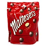 #8: Maltesers Milk Chocolate With Honeycombed Centre 175 Grams Pouch, Free Hand Made Bandhani Pooja thali