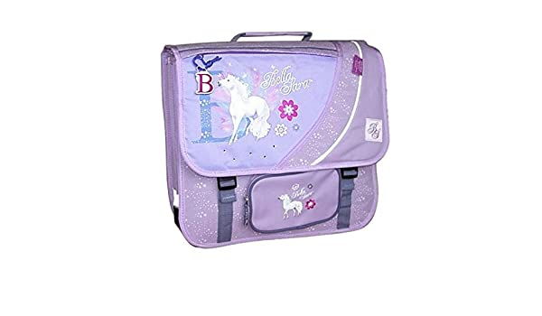 Cartable cheval bella sara beauty 38 cm: amazon.fr: fournitures de