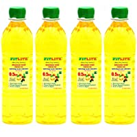 FITLITE Mini Pack of 4 Healthy Groundnut Oil 0.5 LTR