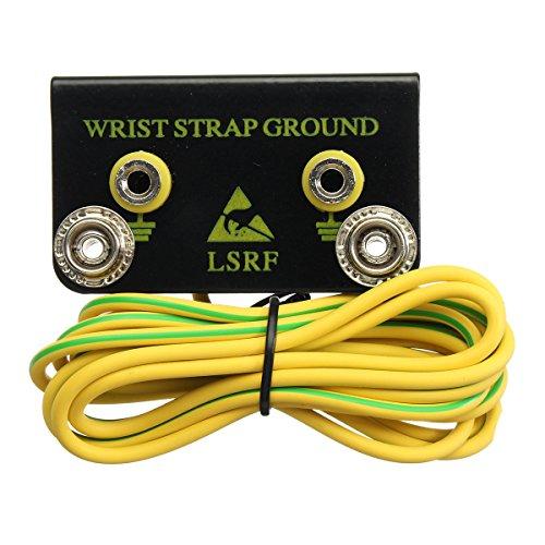 ChaRLes Esd Grounding Kit Anti-Statische Wrist Strap Belt Ground Connector Mit Cord Grounding Kit