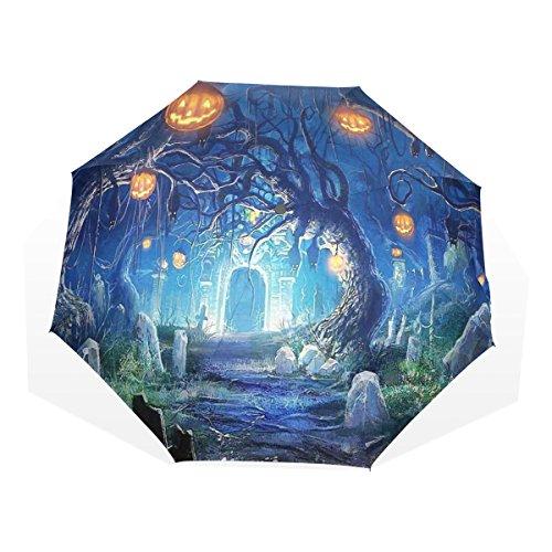 iedhof Personalisierte Fashion Regenschirm Winddicht Folding Travel Compact Regenschirm, XHS-01, Einheitsgröße ()