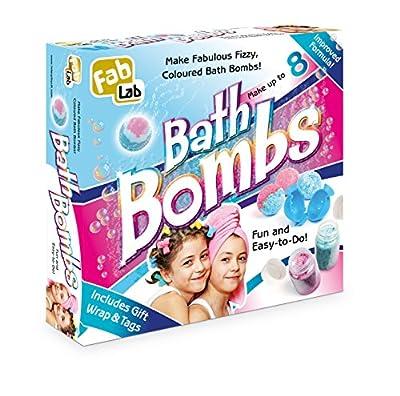 FabLab Bath Bombs from Interplay Uk