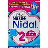 Nestlé Nidal 2 Lait infantile en poudre 700g (2 sachets de 350g)