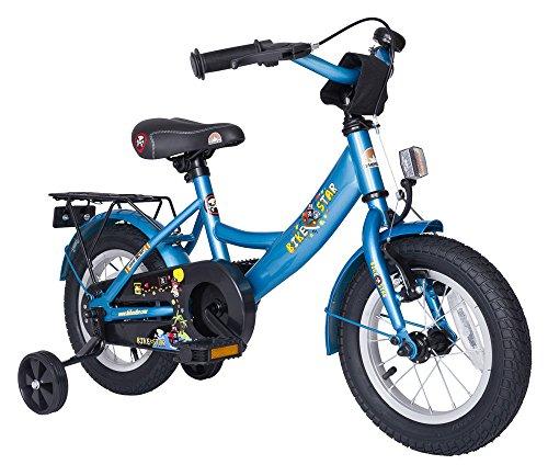 Kinderfahrrad-305cm-12-Zoll-Mdchen-Kinderrad-in-Farbe-Blau-mit-Sttzrdernab-3-Jahren-8-KG-Kinderrad-Fahrrad-Spielrad-Rad