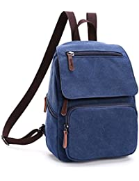 Outreo Mochila Escolares Bolso Mujer Bolsos de Tela Backpack Vintage Bolsas de Viaje Casual Bag Bolsos Bandolera para Escuela Colegio