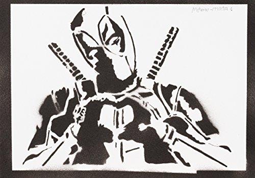 reet Art - Artwork - Poster (Latex-deadpool-kostüm)