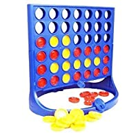 New Line Up 4 Game In Printed Box Children Family Fun Games Activity Connect 4