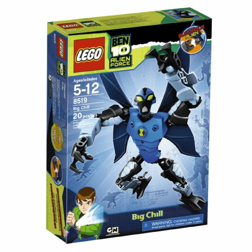 Lego Ben 10 Alien Force Big Chill (8519) Picture