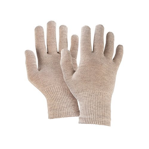 Silber beheizt Handschuhe (Verschiedene Optionen) - 8% Silber / Grau, XS