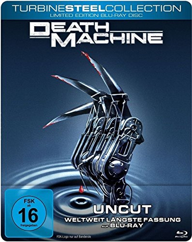 Death Machine - Uncut / Turbine Steel Collection [Blu-ray] [Limited Edition] Uncut Radar