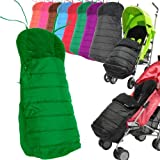Baby Travel Universal Foot Muff (Leaf), used for sale  Delivered anywhere in UK
