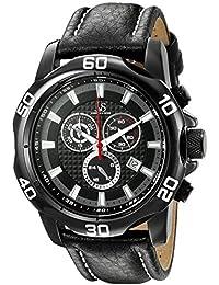 Joshua & Sons Reloj de cuarzo Man JX109BK 48.0 mm