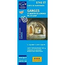 Ganges/Saint-Martin-de-Londres/Pic Saint-Loup GPS: IGN.2742ET