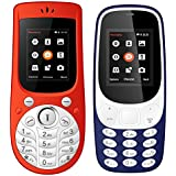 I Kall 1.8 Inch Mobile Combo Of K3310 And K18 New (Dark Blue And Red)