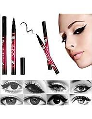 LHWY Black Eyeliner Waterproof Liquid Make Up Beauty Comestics Eye Liner Pencil Pen