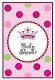 32-teiliges Einladungskarten-Set * BABY SHOWER * für eine Pinkelparty // zur Geburt von einem Mädchen // mit 8 Einladungen und 8 Umschlägen // Girl Sticker Siegel Nachwuchs Kind Kinder