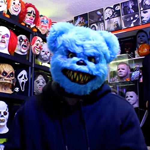 KQ Halloween Scary Mask - Halloween Bärenmasken - Gruselige Tiermaske (Einfache Indische Kostüm Für Erwachsene)
