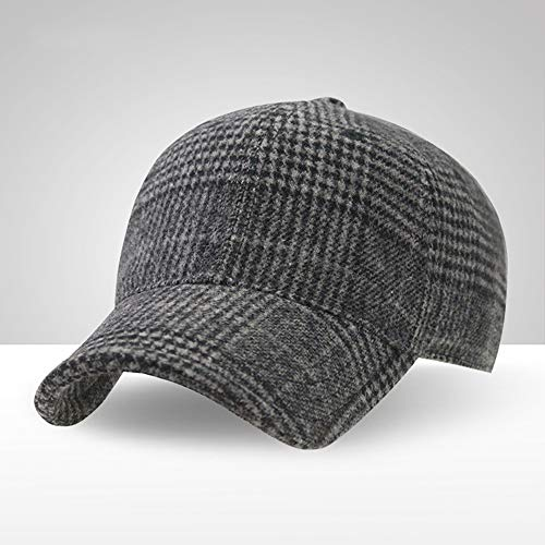 Klassischer Baseball-Kappen-Stil Sport-Casual Sun Hut,Darkgray