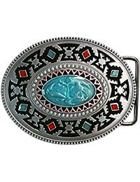 Landisun main classique Southwest Totem boucle de ceinture