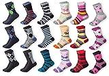Mctam® Jungen & Mädchen Socken Basic Line 12er Pack 90% Baumwolle