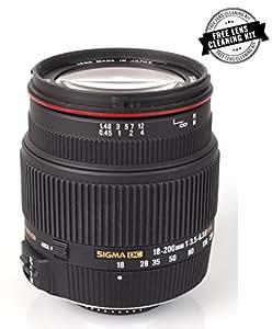 Sigma 18-200 F/3.5-6.3 II DC OS HSM Telephoto Zoom Lens for Nikon DSLR Camera