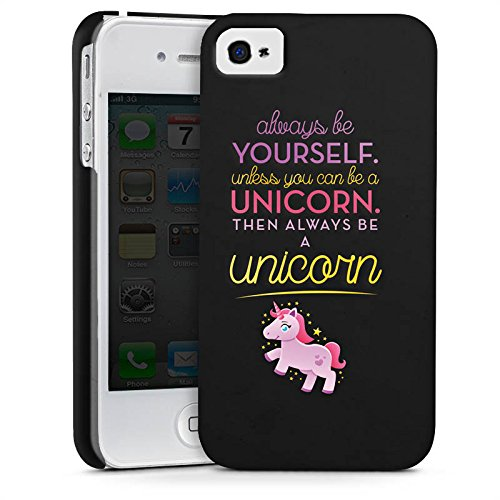 Apple iPhone 8 Plus Silikon Hülle Case Schutzhülle Einhorn Unicorn Lustig Sprüche Premium Case glänzend