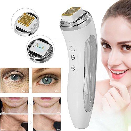 Radiofrecuencia facial instrumento de belleza RF,masajeador piel,anti-edad para la...