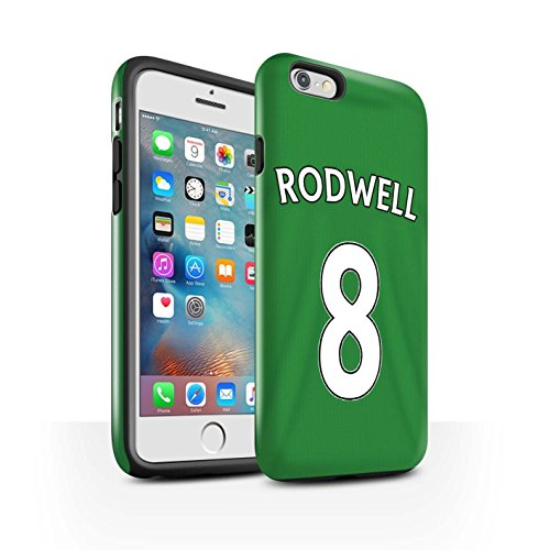 Officiel Sunderland AFC Coque / Brillant Robuste Antichoc Etui pour Apple iPhone 6S+/Plus / Pack 24pcs Design / SAFC Maillot Extérieur 15/16 Collection Rodwell