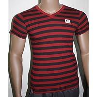 FC Augsburg FCA T-Shirt Streifen Bundesliga Fan-Artikel Gr. S 29902