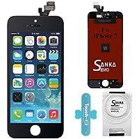 SANKA Schermo Display Completo LCD Assembly Digitizer Sostituzione Schermo per iPhone 5-Nero