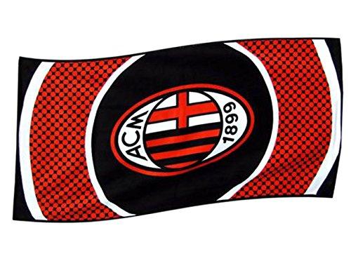 AC Mailand Zielscheibe Strandtuch, mehrfarbig Einheitsgröße Mehrfarbig (Milan Shirt Training)