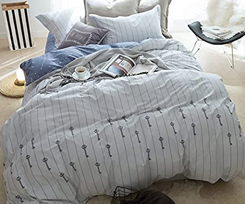 Frischer Stil Betten Sets Flamingo–memorecool Haustierhaus 100% Baumwolle reaktiver Druck alle Jahreszeiten Bettbezug und Bettlaken und Kissenbezüge Twin, Königin (Queen), Key and Fitted, Queen