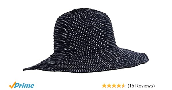 Wallaroo Women Petite scrunchie Hat - Blue  Amazon.co.uk  Sports   Outdoors 5a2ca6292fac