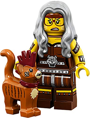 Mann Emmet Kostüm Lego - LEGO Movie 2 Minifigur 71023 (#06 Sherry Scratchen-Post & Scarfield)