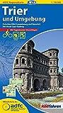 ADFC-Regionalkarte Trier und Umgebung mit Tagestouren-Vorschlägen, 1:50.000, reiß- und wetterfest, GPS-Tracks Download: Zwischen Eifel, Luxembourg und ... (ADFC-Regionalkarte 1:50000) -