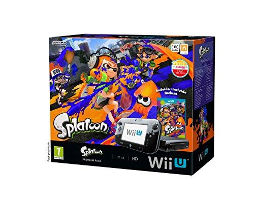 Nintendo Wii U: Console + Splatoon Premium Pack [Bundle] [Importación Italiana]