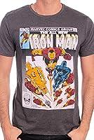 Marvel Herren T-Shirt Iron Man Fly
