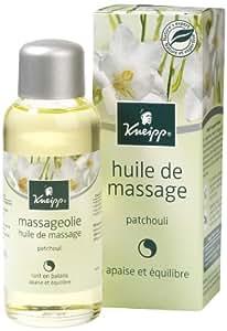 Kneipp Huile de Massage Patchouli 100 ml