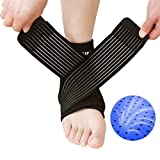LEFA Neoprene Adjustable Ankle Support Sports Pad Ankle Braces Compression Sleeves Joint Pain