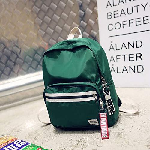 Kinderschultasche - Fashion Reiserucksack Kinderleichter Reiserucksack Grün 30 * 13 * 37 (Kleinkind Karierte Vans)