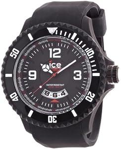 Ice-Watch DI.BW.XB.R.11 - Reloj analógico de cuarzo para hombre con correa de silicona, color negro de Ice-Watch