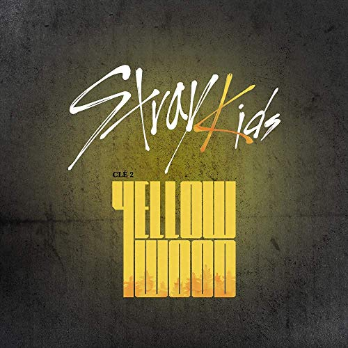 Stray Kids - Clé 2 Yellow Wood [Yellow Wood Ver.] (Tracking Provided) - Pack of CD, Photobook, Photocard, Folded Poster with Pre Order Benefit, Extra Decorative Sticker Set, Photocard Set