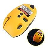 Tiptiper Linie Laser Level Meter Maus Typ, rechtwinklig Infrarot Laser Level Vertical Horizontal Line Messwerkzeug Gelb