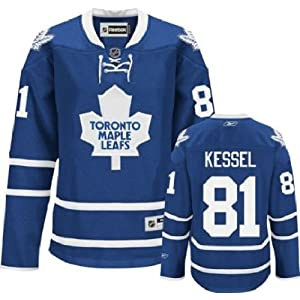 NHL Eishockey Trikot/Jersey Damen/Ladies/Women TORONTO MAPLE LEAFS Phil Kessel #81 blau in LARGE (L)
